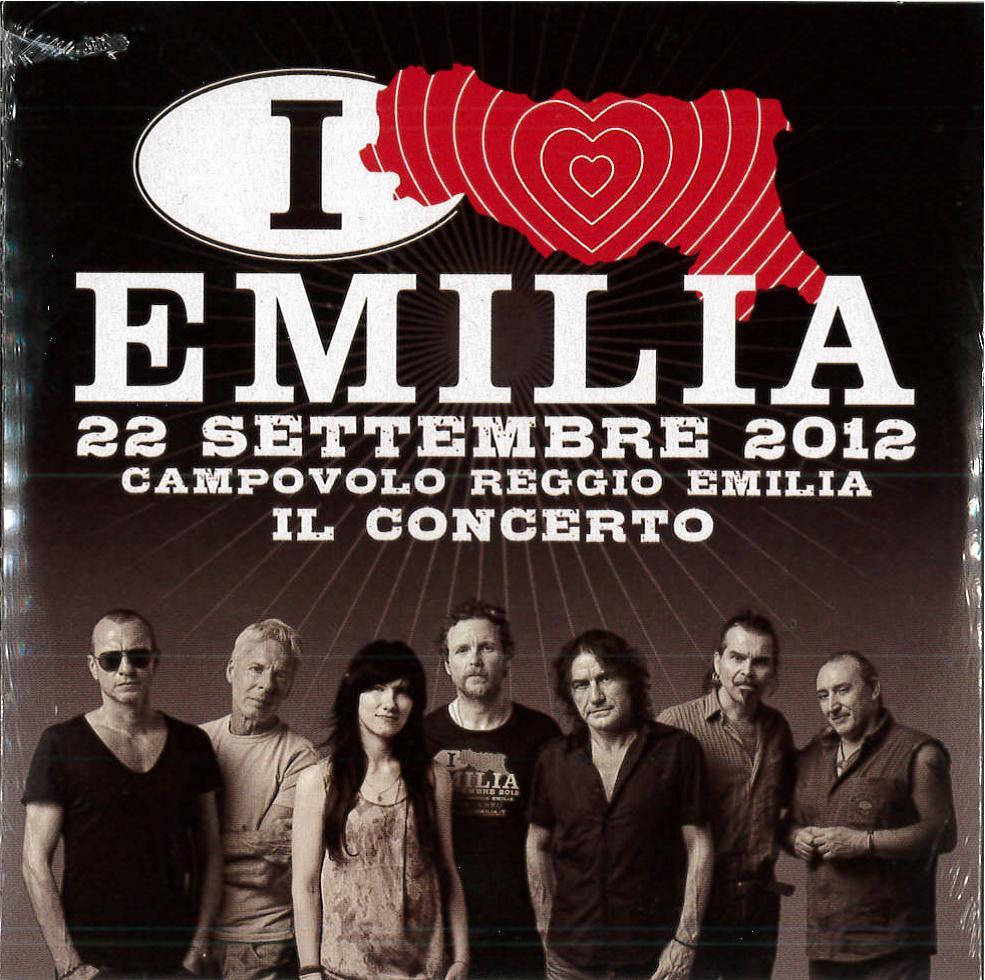 I LOVE EMILIA IL CONCERTO VOL.02 / 22 SETTEMBRE 2012 DVD (DVD)
