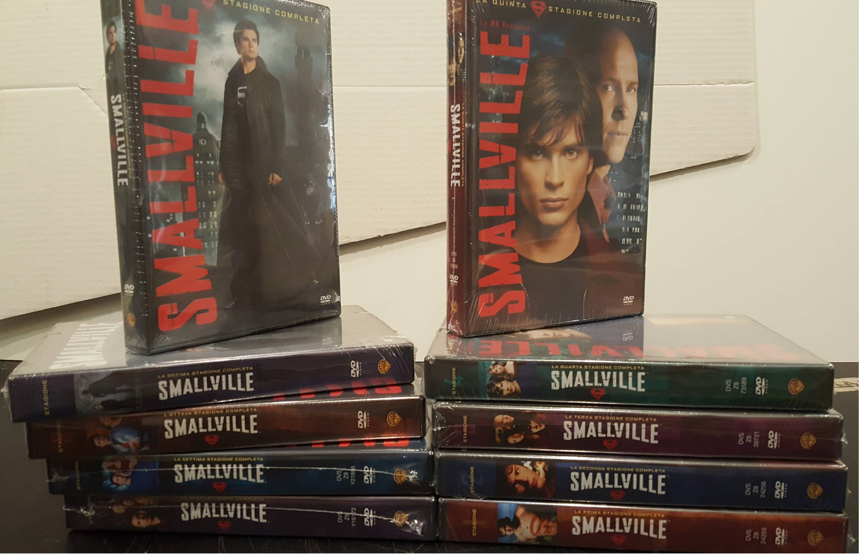 COF.SMALLVILLE - STAG.01-10 SERIE COMP. (60 DVD) (DVD)