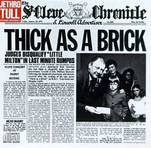 JETHRO TULL - THICK AS A BRICK (CD)