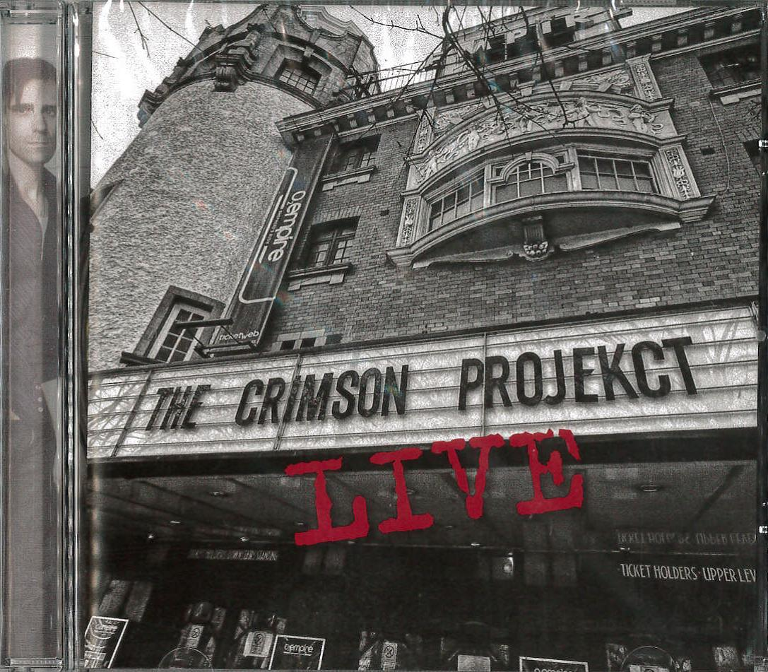 KING CRIMSON PROJECKT - LIVE (CD)