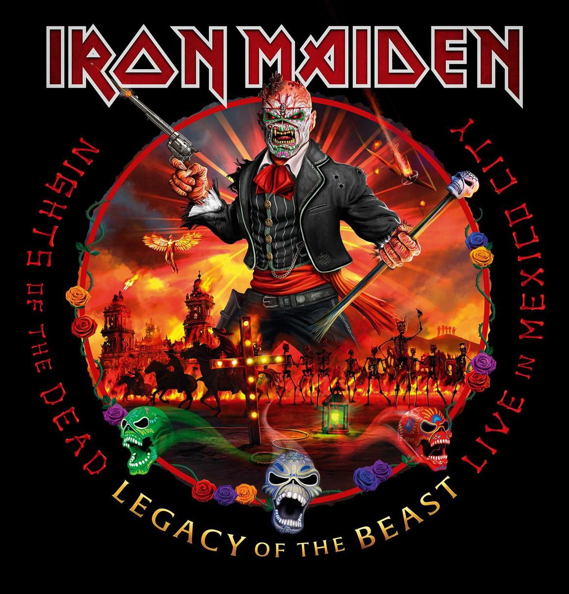 IRON MAIDEN - NIGHTS OF THE DEAD (DELUXE EDITION) (CD)