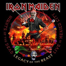 IRON MAIDEN - NIGHTS OF THE DEAD 0CD (CD)