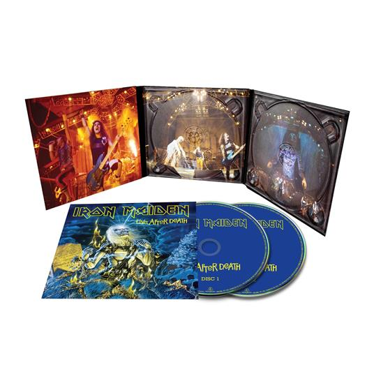 IRON MAIDEN - LIVE AFTER DEATH 2CD (CD)