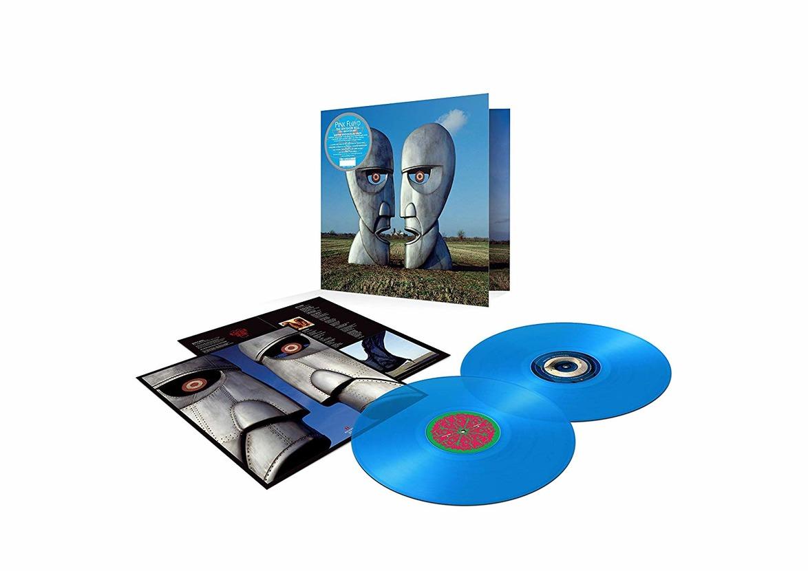 PINK FLOYD - THE DIVISION BELL (BLU VINYL) (2 LP) (LP)