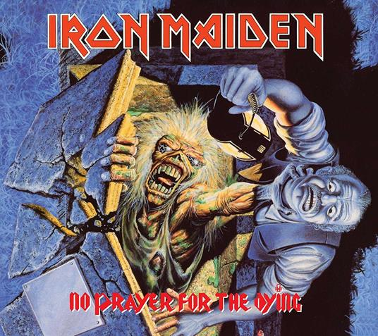 IRON MAIDEN - NO PRAYER FOR THE DYING - REM. DIGIPACK ED. (CD)