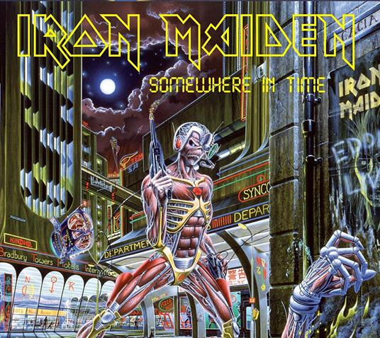 IRON MAIDEN - SOMEWHERE IN TIME - REM. DIGIPACK ED.. (CD)
