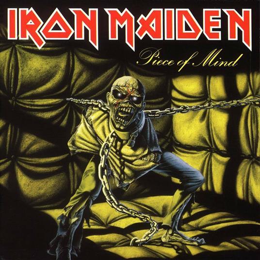 IRON MAIDEN - PIECE OF MIND - REM. DIGIPACK ED. (CD)