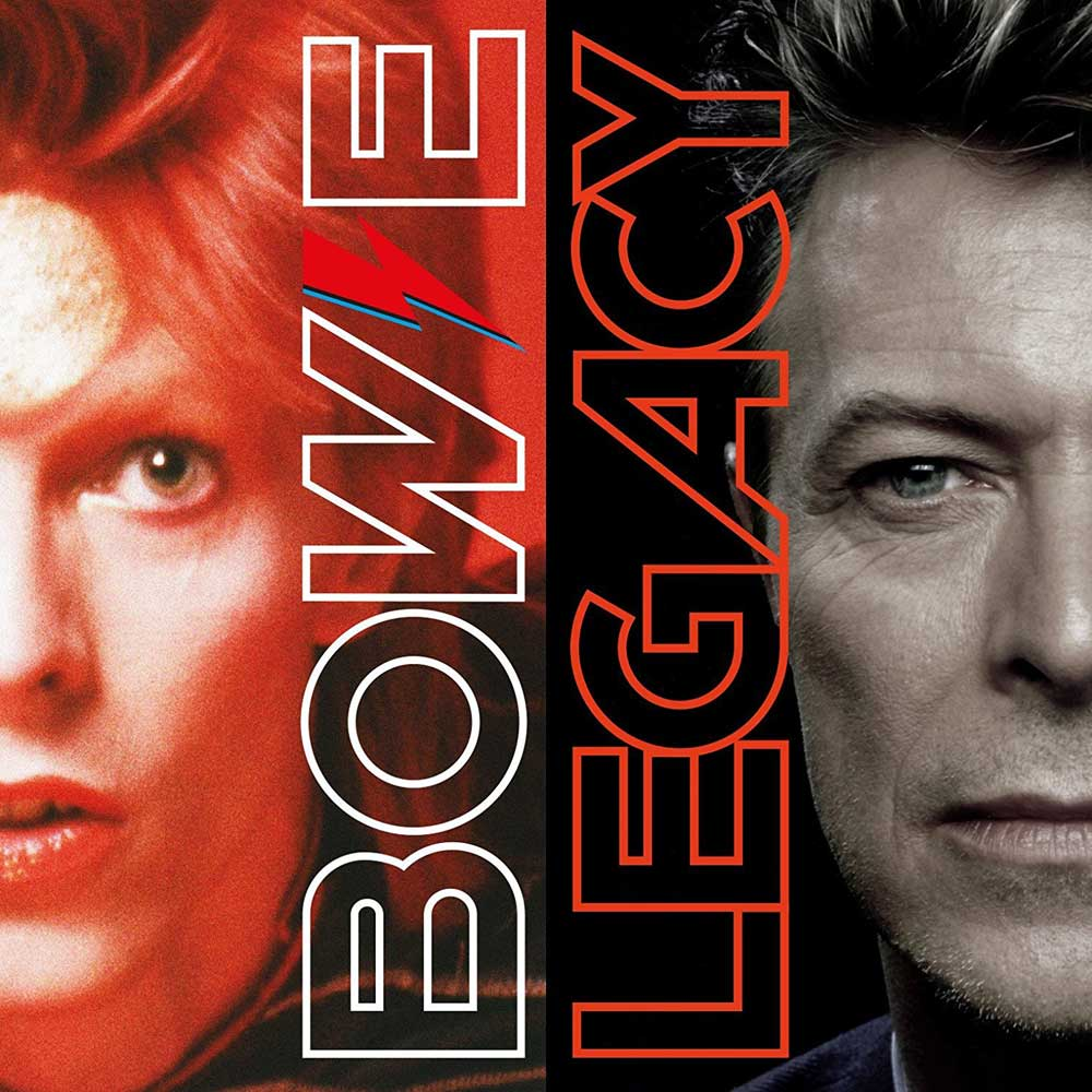 DAVID BOWIE - LEGACY -2CD (CD)