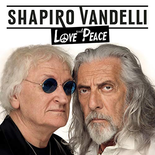 SHEL SHAPIRO & MAURIZIO VANDELLI - LOVE AND PEACE (CD)