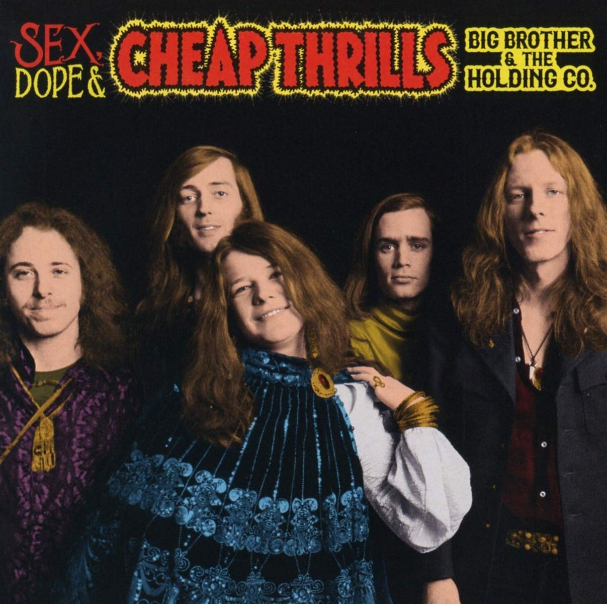 BIG BROTHER & HOLDING COMPANY - SEX DOPE & CHEAP THRILLS (2 CD)