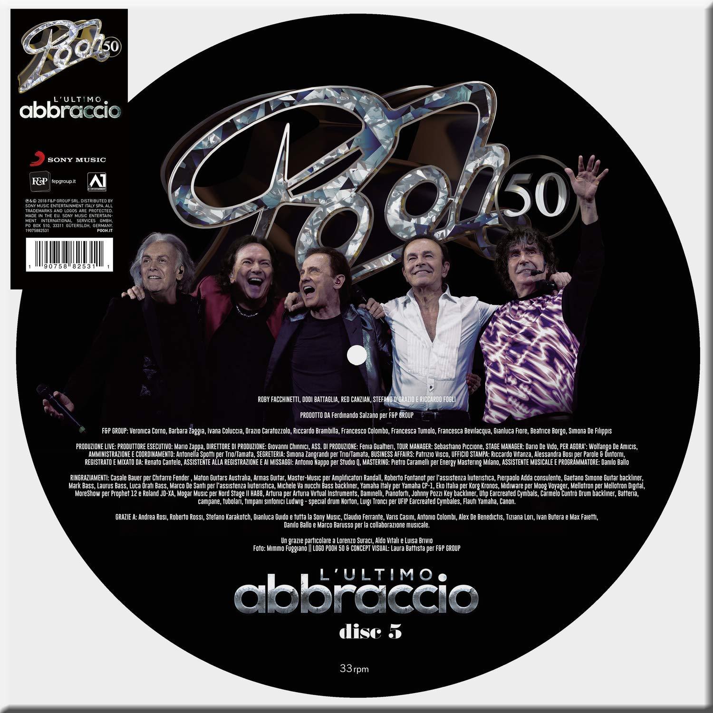 POOH - L'ULTIMO ABBRACCIO-PICTURE 5 LIVE (LP)
