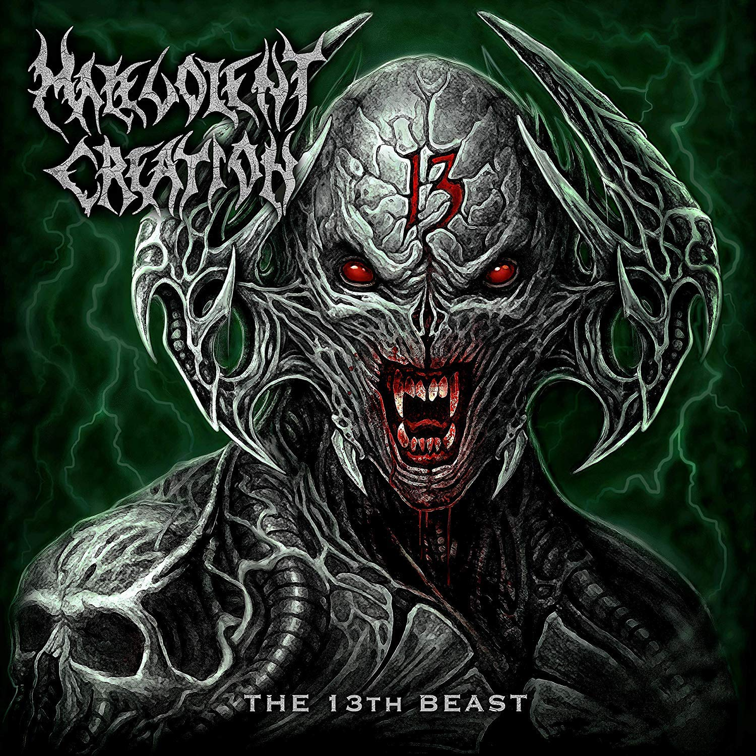 MALEVOLENT CREATION - THE 13TH BEAST (CD)