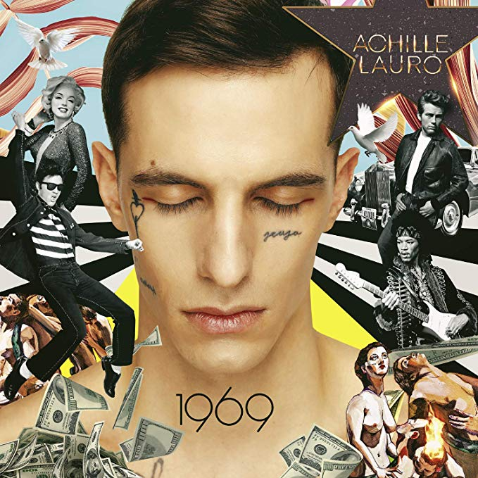 ACHILLE LAURO - 1969 (DELUXE EDITION HARDCOVER BOOK) (CD)