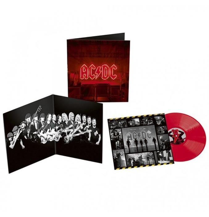 AC/DC - POWER UP (OPAQUE RED COLOURED VINYL) (CD)
