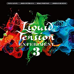 LIQUID TENSION EXPERIMENT - LTE3 (2 CD + BLU-RAY) (LP)
