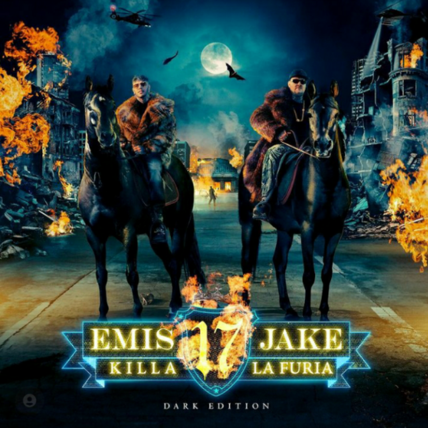 EMIS KILLA & JAKE LA FURIA - 17 (DARK EDITION 2 CD + 17 DARK EDI