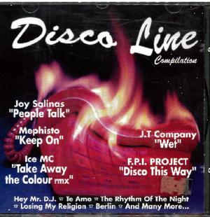 DISCO LINE COMPILATION (CD)
