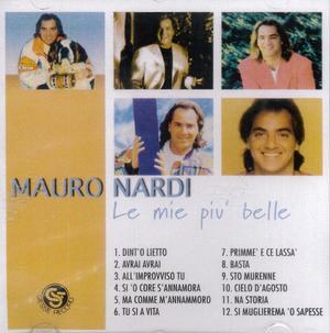 MAURO NARDI - LE MIE PIU' BELLE CANZONI (CD)