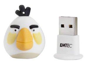 ANGRY BIRDS - WHITE 4GB CHIAVETTA USB
