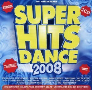 SUPER HITS DANCE 2008 -2CD (CD)
