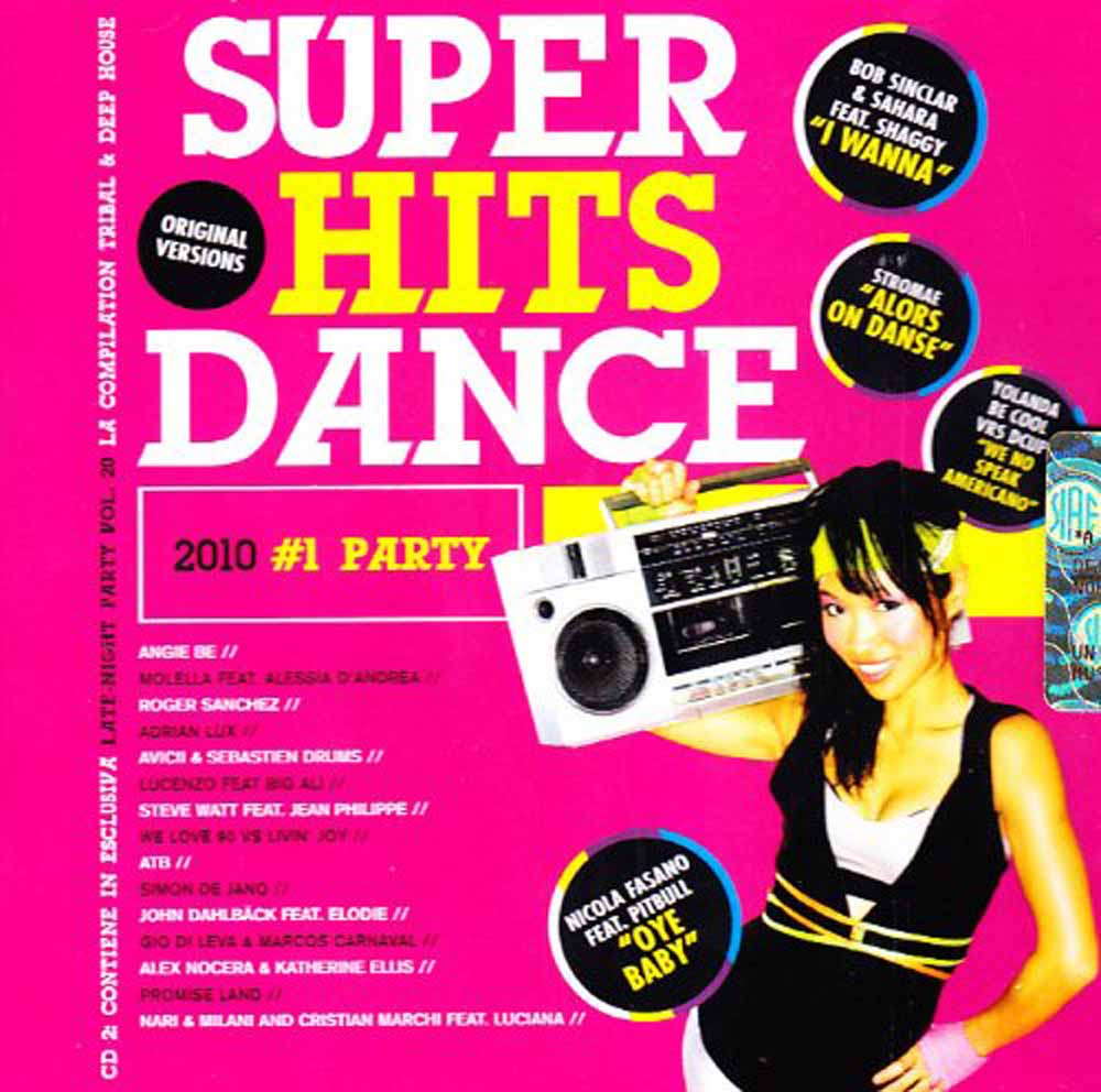 SUPER HITS DANCE 2010 #1PARTY (CD)