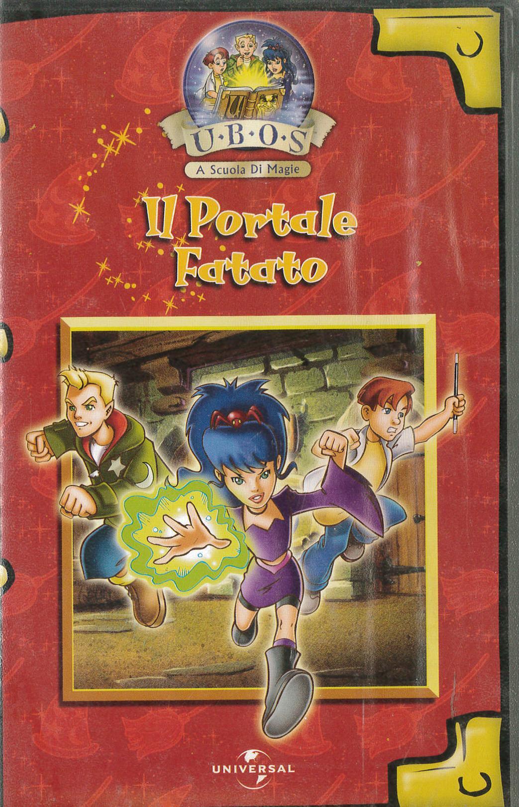 A SCUOLA DI MAGIA - IL PORTALE FATATTO - VHS EX NOLEGGIO (VHS)
