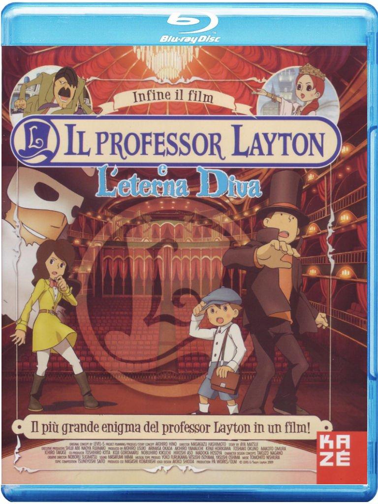 IL PROFESSORE LAYTON L'ETERNA DIVA