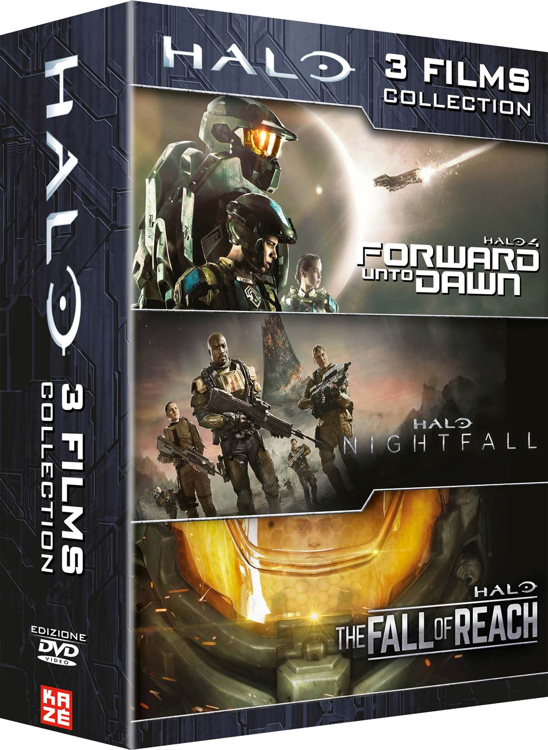 COF.HALO - FORWARD UNTO DAWN / NIGHTFALL / THE FALL OF REACH (3