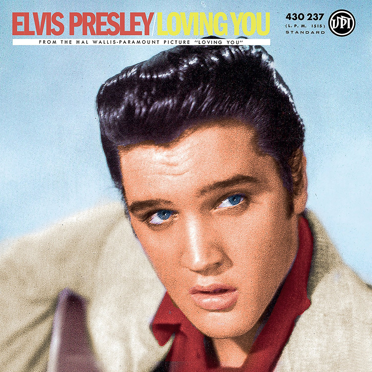 ELVIS PRESLEY - LOVING YOU (LP)