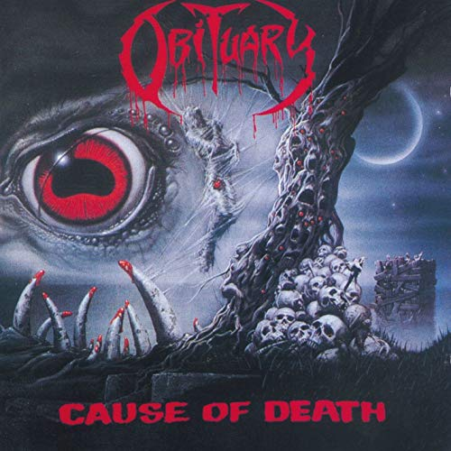 OBTUARY - CAUSE OF DEATH (REISSUE) (CD)