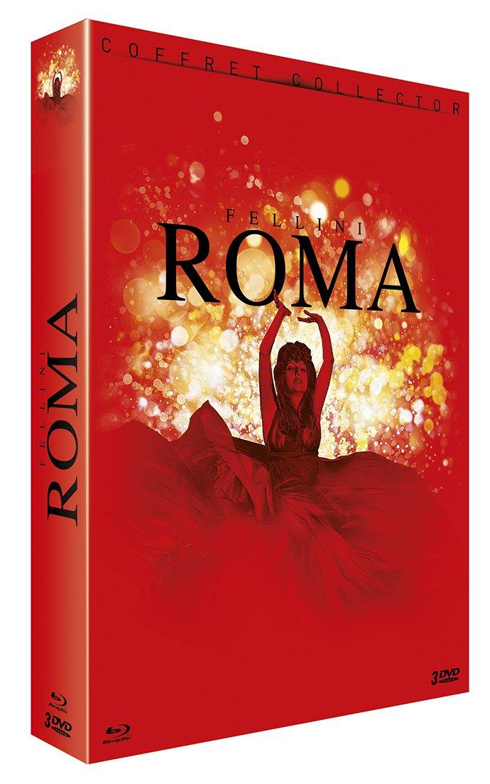 COF.FELLINI ROMA (BLU-RAY+3 DVD) [EDIZIONE: FRANCIA] [ITA]