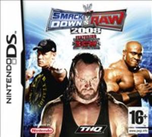 WWE SMACKDOWN VS. RAW 2008 DS