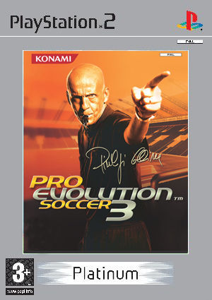 PRO EVOLUTION SOCCER 3 PLATINUM PS2