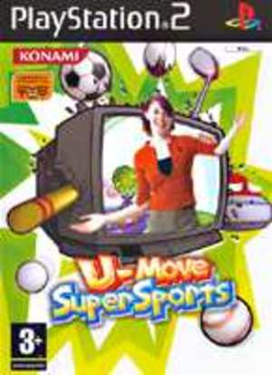 U-MOVE SUPER SPORTS PS2