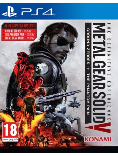 METAL GEAR SOLID V: THE DEFINITIVE EXPERIENCE (USATO)