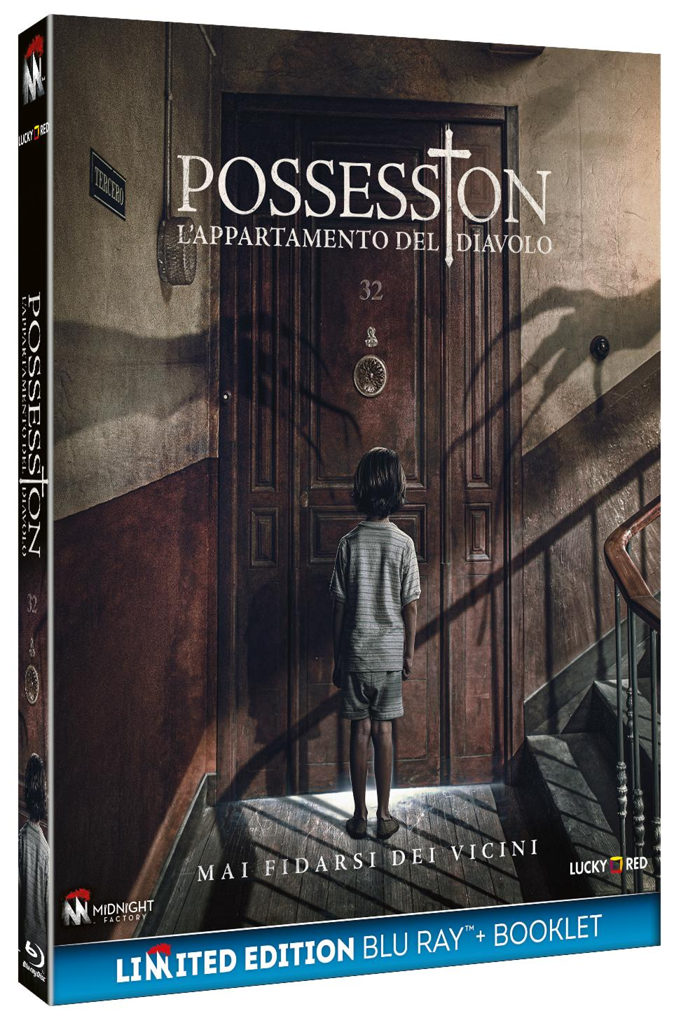 POSSESSION - L'APPARTAMENTO DEL DIAVOLO (BLU-RAY+BOOKLET)