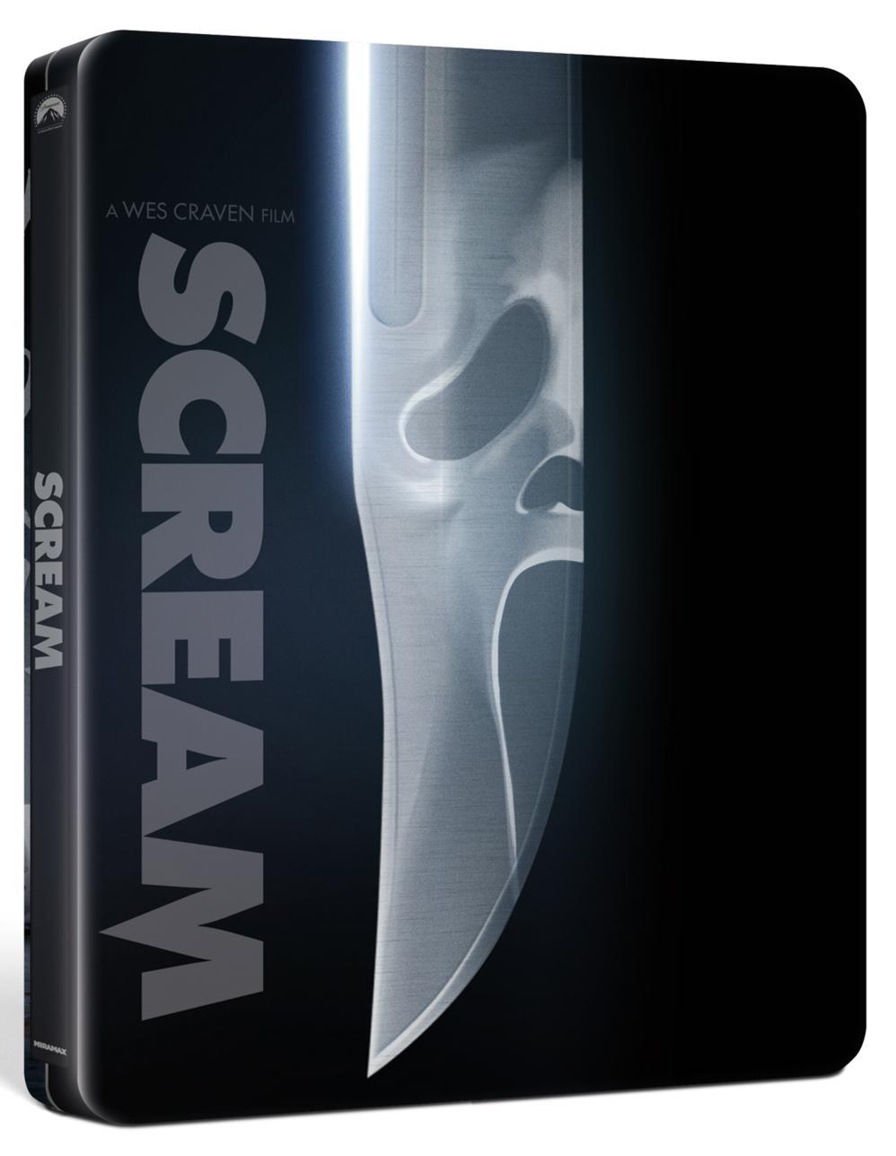 SCREAM (STEELBOOK) (BLU-RAY ULTRA HD+BLU-RAY)