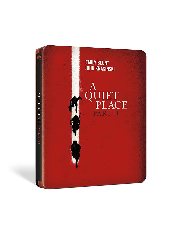 A QUIET PLACE PART 2 (BLU-RAY UHD+BLU-RAY) (STEELBOOK)