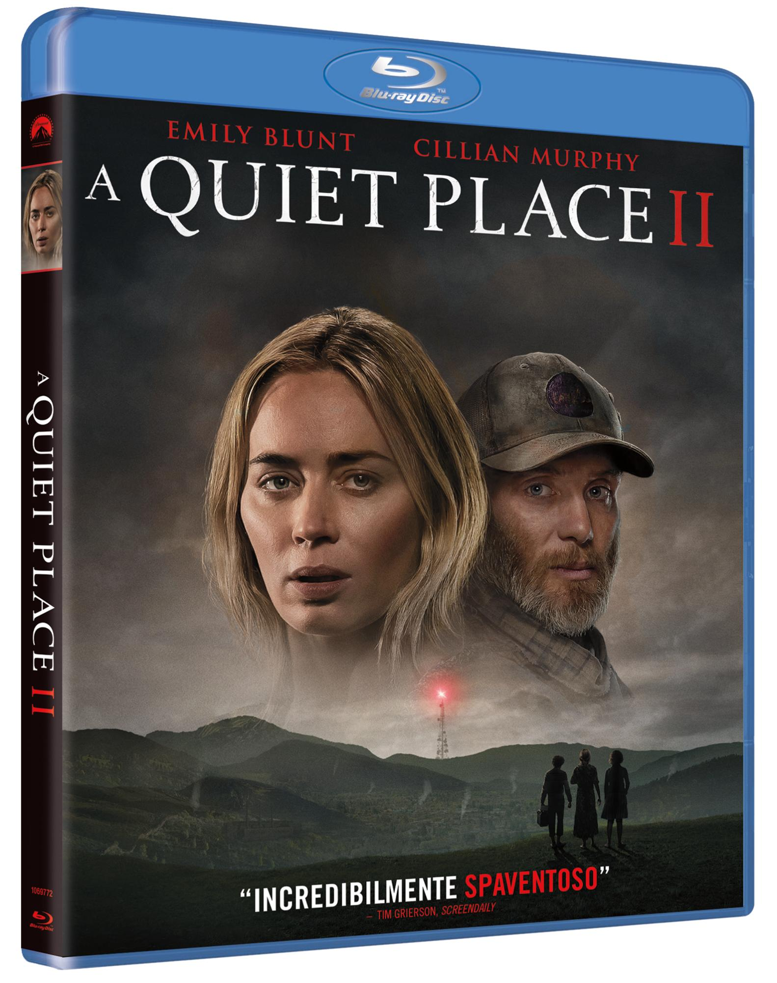 A QUIET PLACE PART 2 - BLU RAY