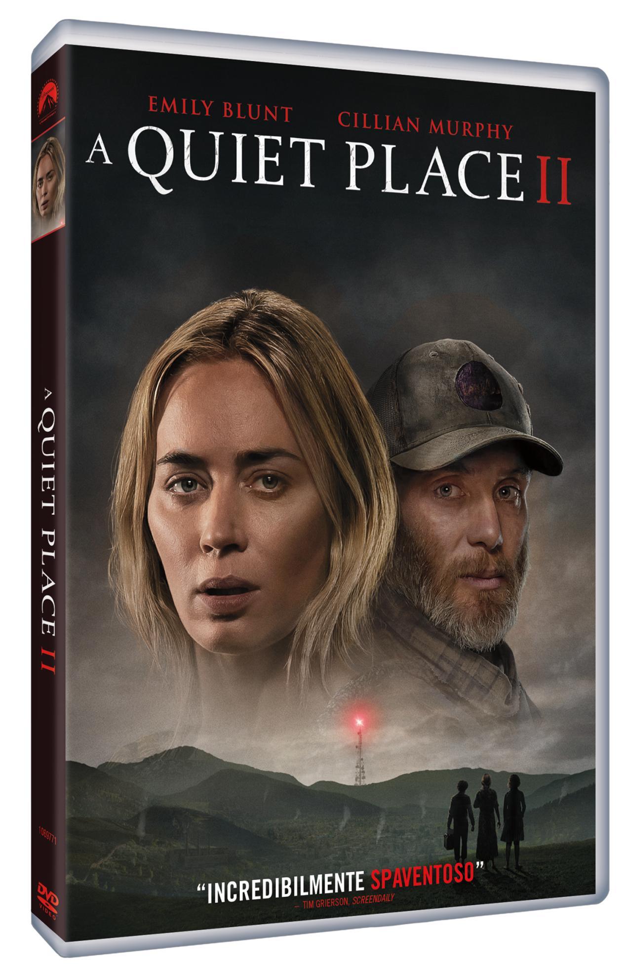 A QUIET PLACE PART 2 (DVD)