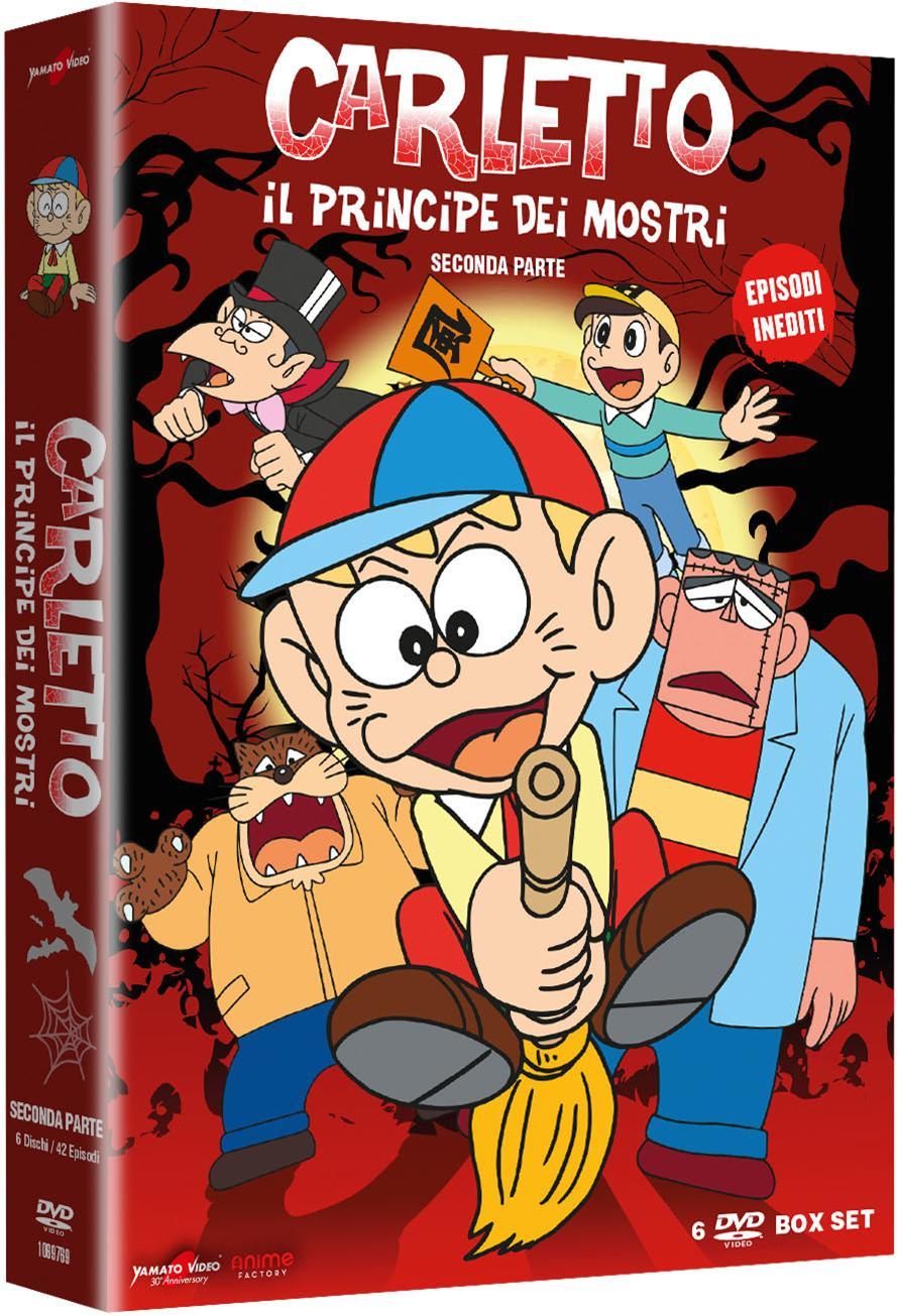 COF.CARLETTO IL PRINCIPE DEI MOSTRI - STAGIONE 02 (6 DVD) (DVD)