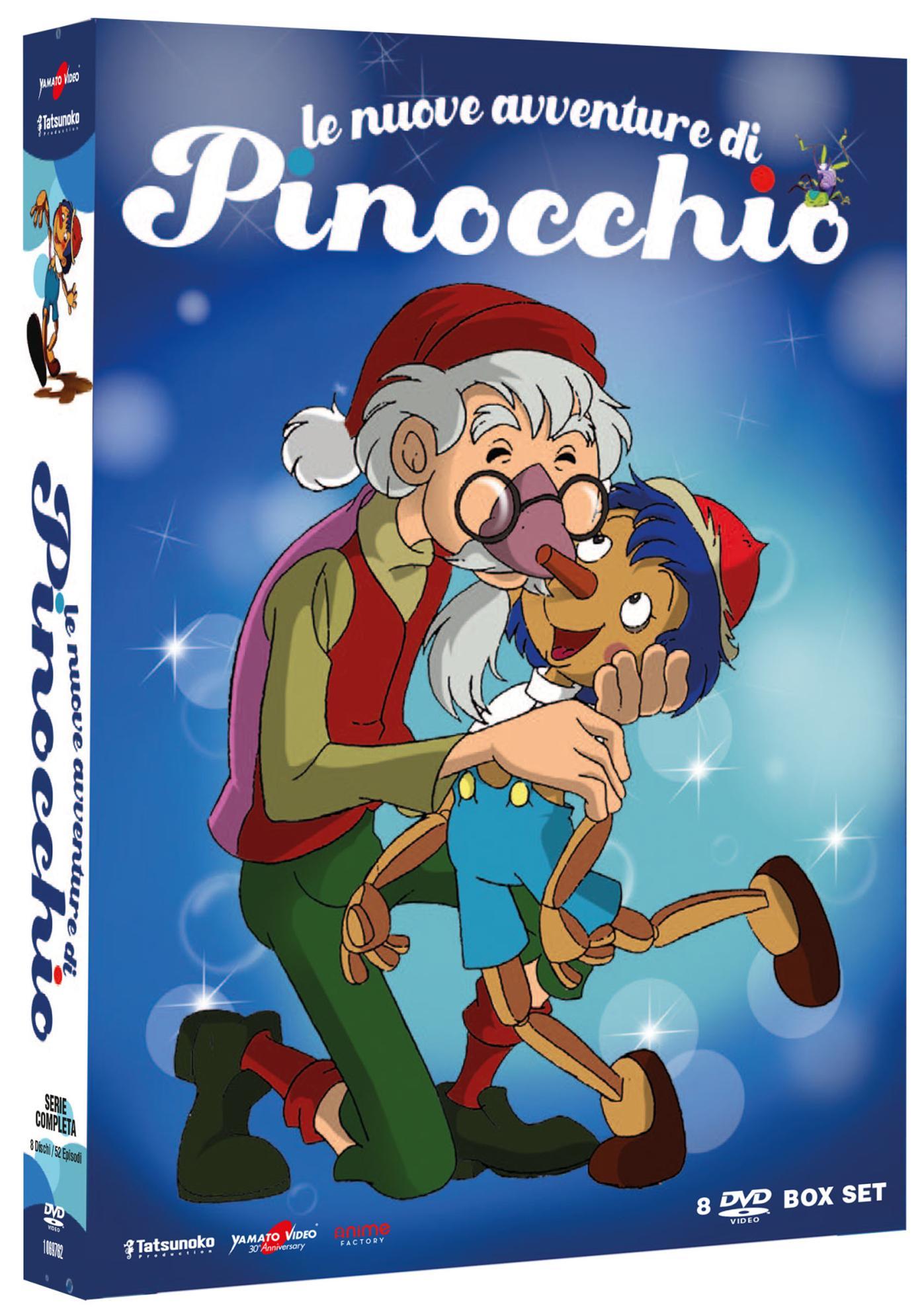 COF.LE NUOVE AVVENTURE DI PINOCCHIO (8 DVD) (DVD)