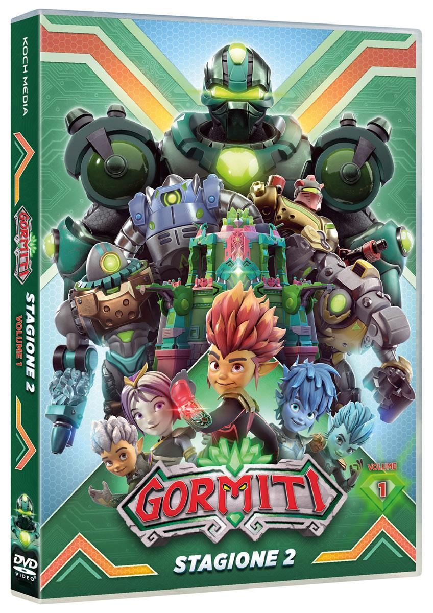 GORMITI - LA SECONDA SERIE VOL.1 (DVD)