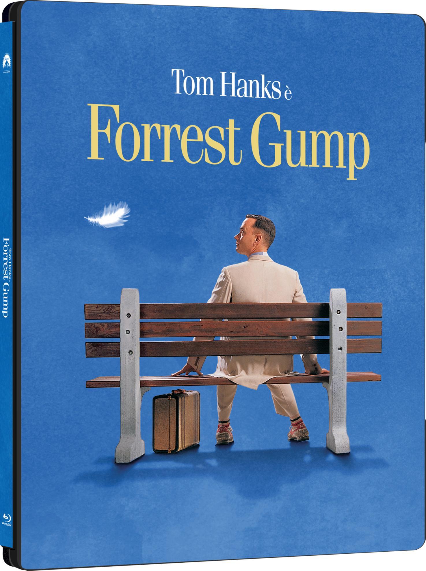 FORREST GUMP (BLU-RAY UHD+2BLU-RAY) (STEELBOOK)