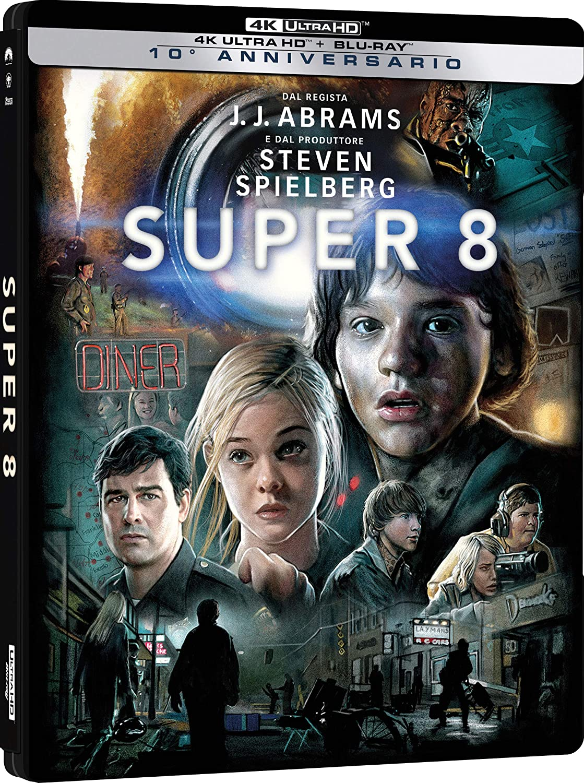SUPER 8 (BLU-RAY HD+BLU-RAY) (STEELBOOK)