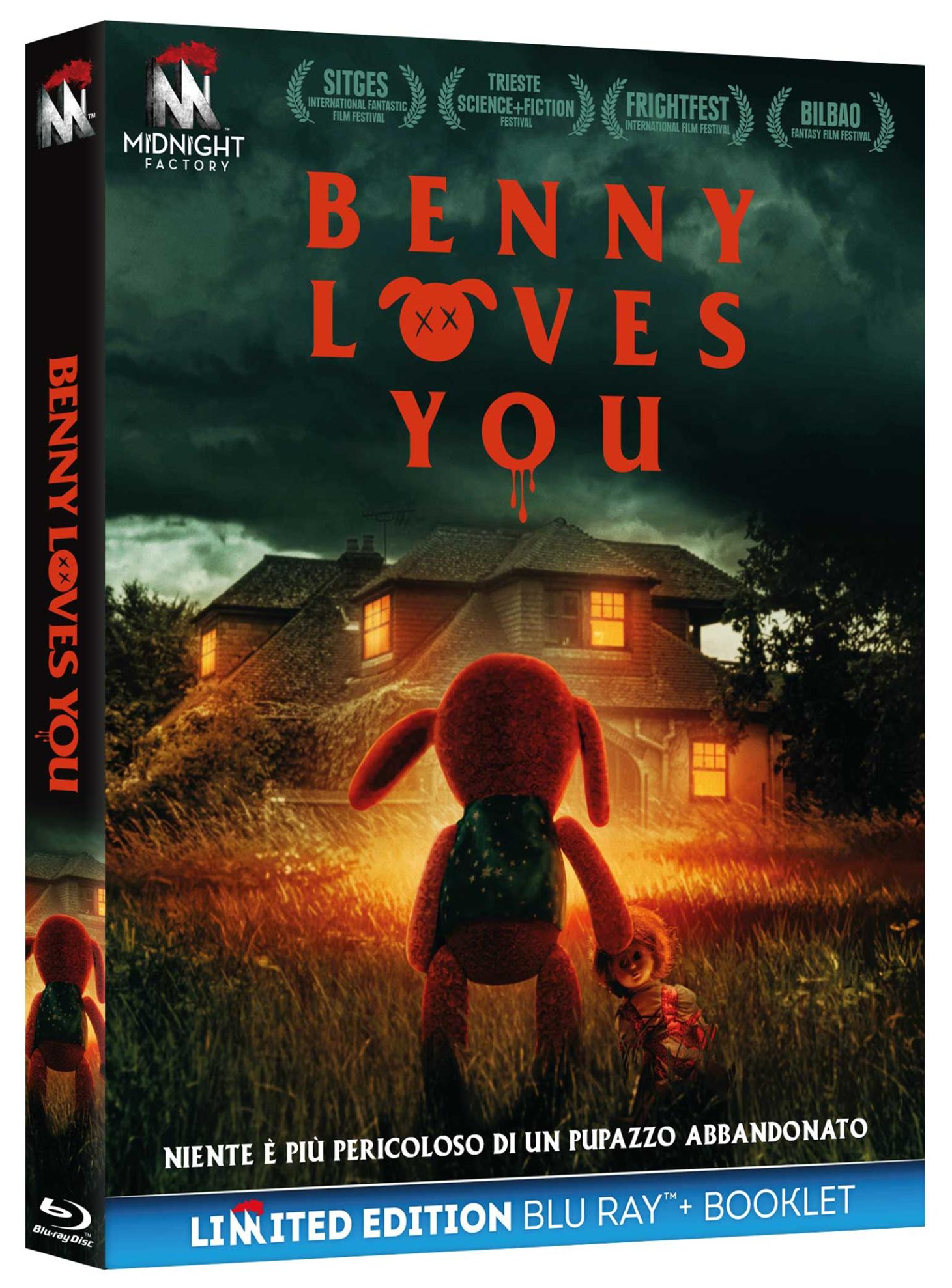 BENNY LOVES YOU (BLU-RAY+BOOKLET)
