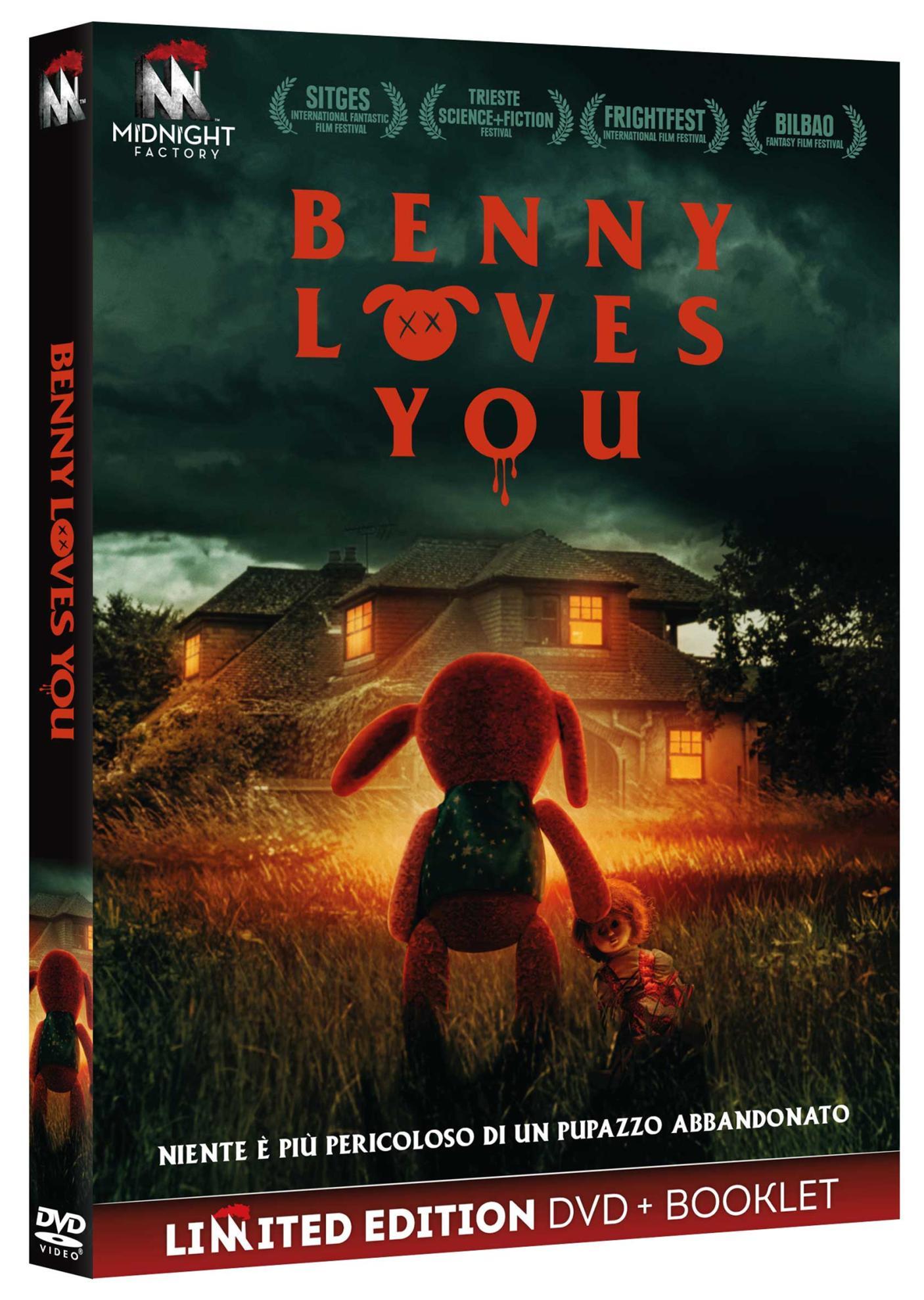 BENNY LOVES YOU (DVD+BOOKLET) (DVD)