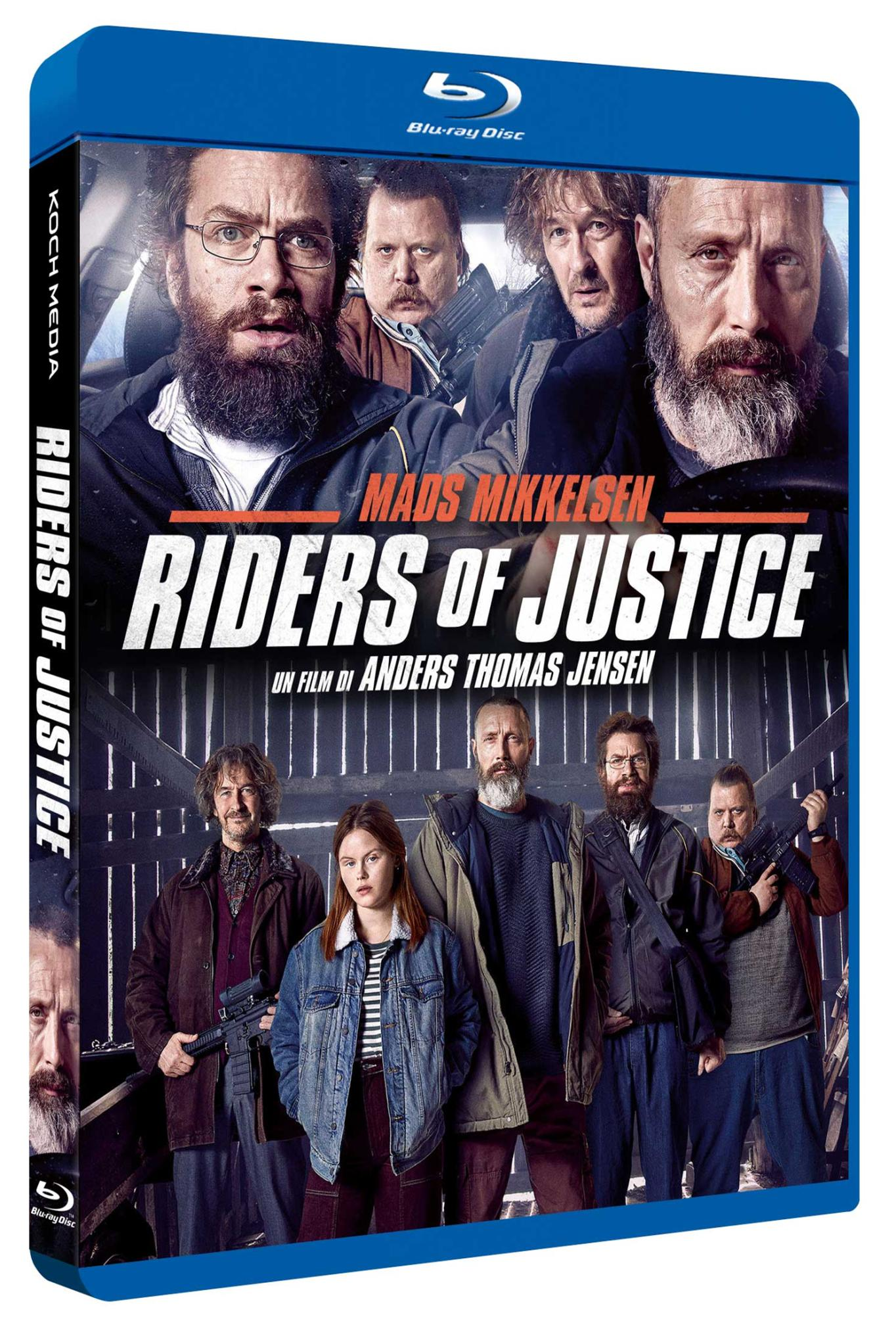 RIDERS OF JUSTICE - BLU RAY