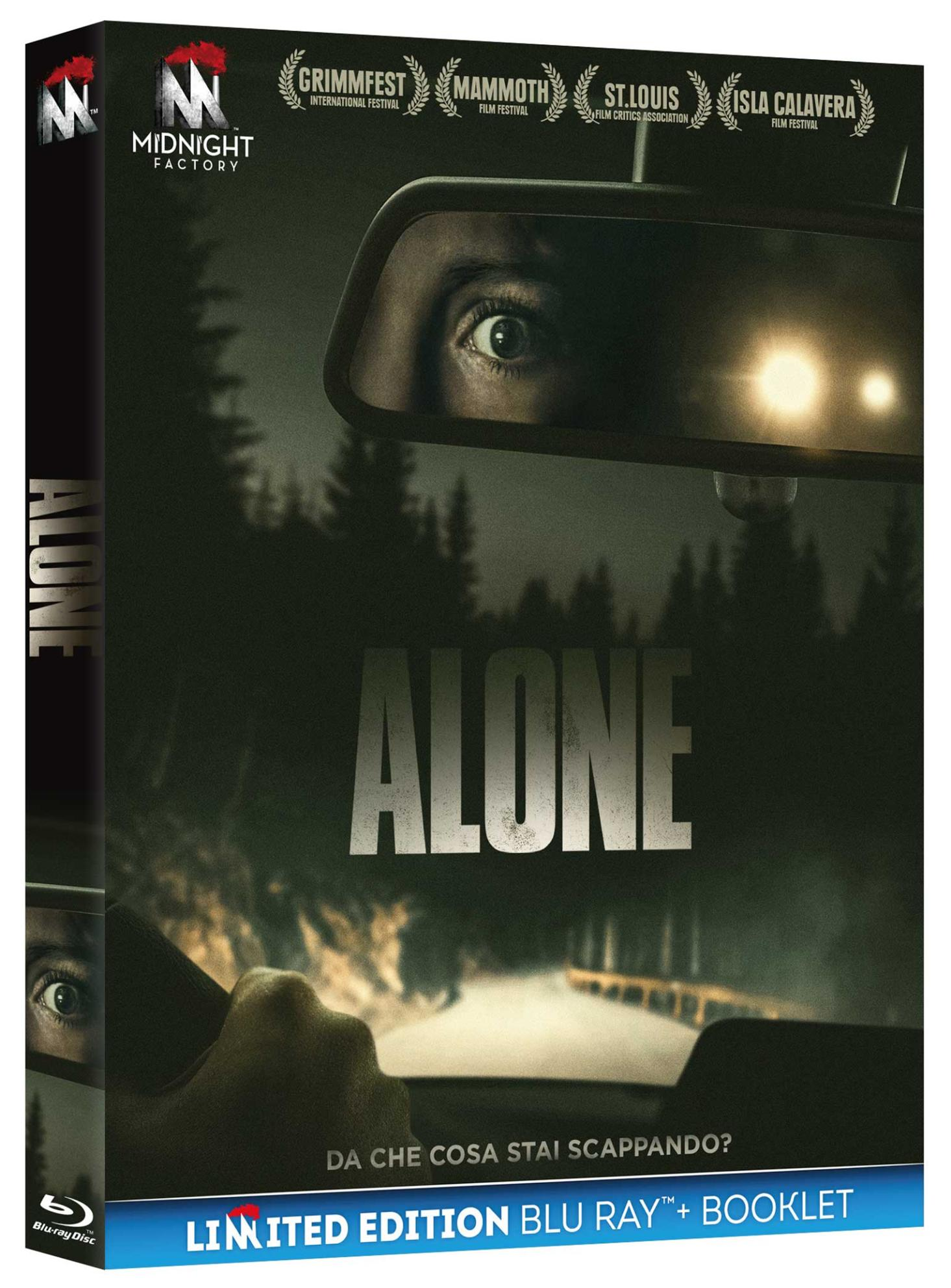 ALONE (BLU-RAY+BOOKLET)