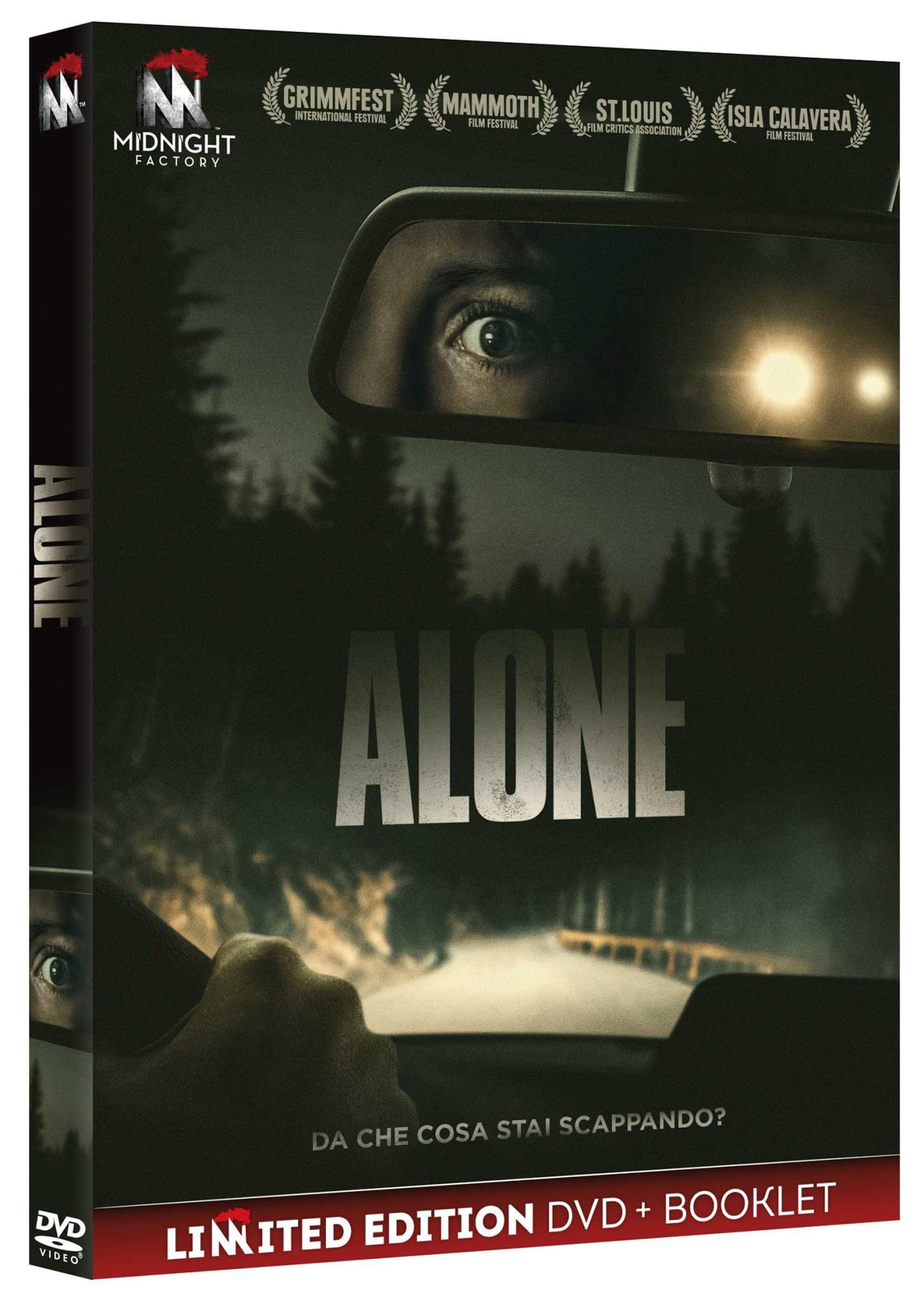 ALONE (DVD+BOOKLET) (DVD)